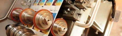 4-Color flexographic printing - Impresión a 4 tintas